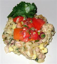 White Chili Pork Risotto