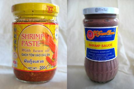 Shrimp Pastes